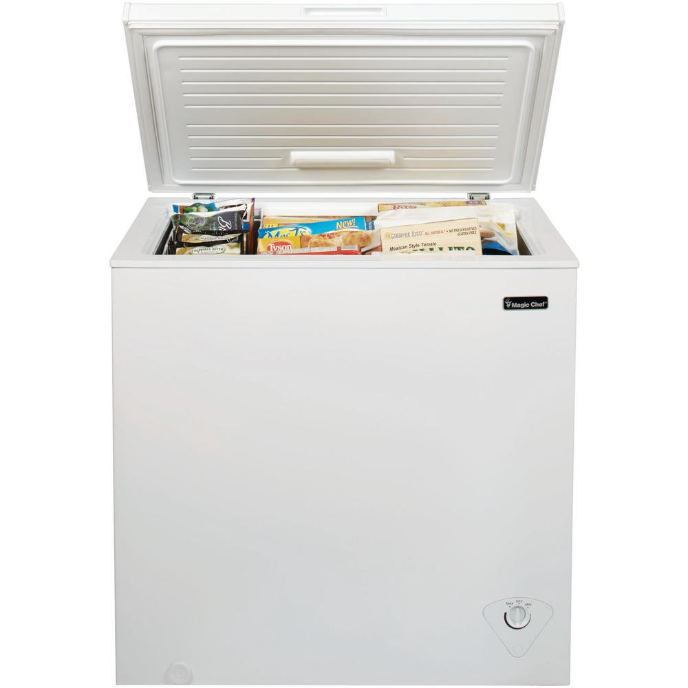 Magic Chef 7.0 cu. ft. Chest Freezer in White on