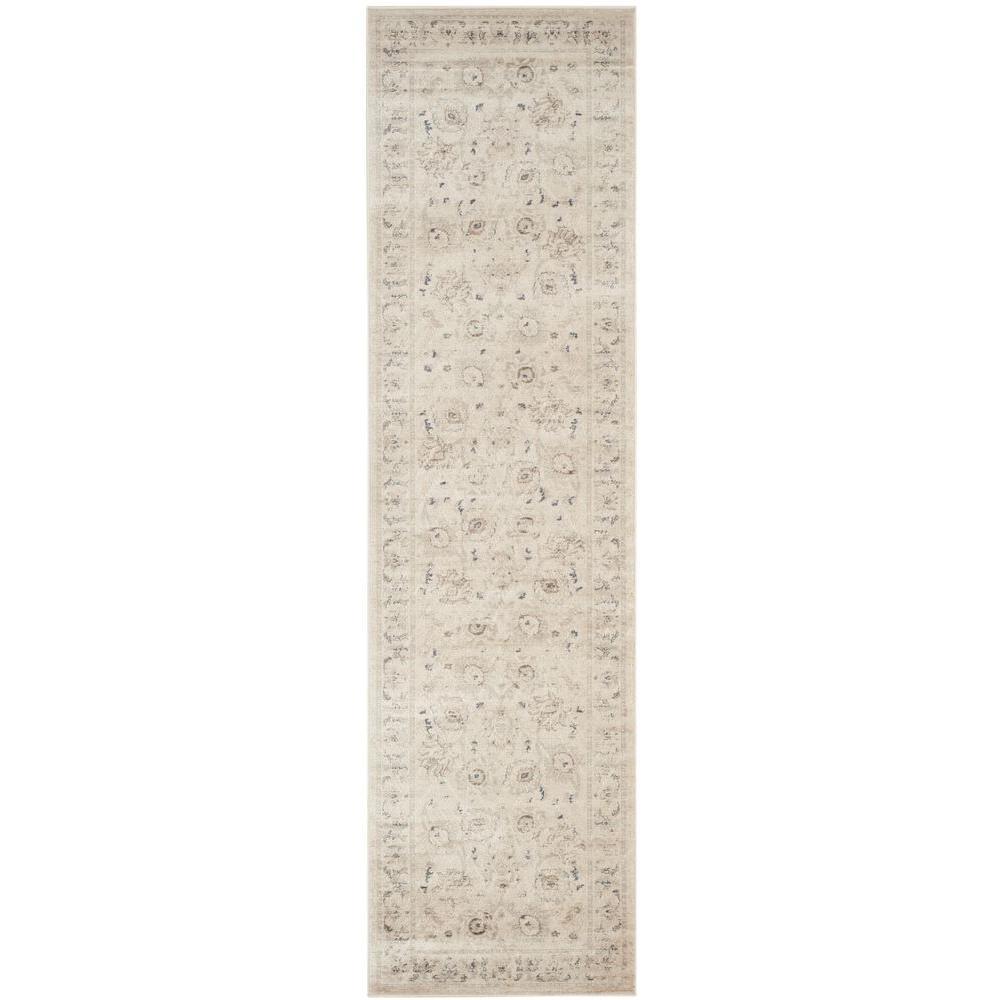 Safavieh Vintage Light Grey/Ivory 2 ft. x 8 ft. Runner Rug