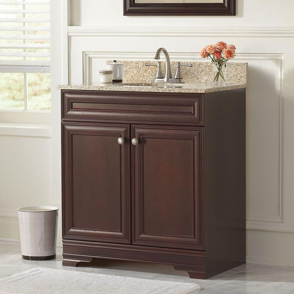 Home Decorators Collection Grafton 31 in. W Bath Vanity in ...