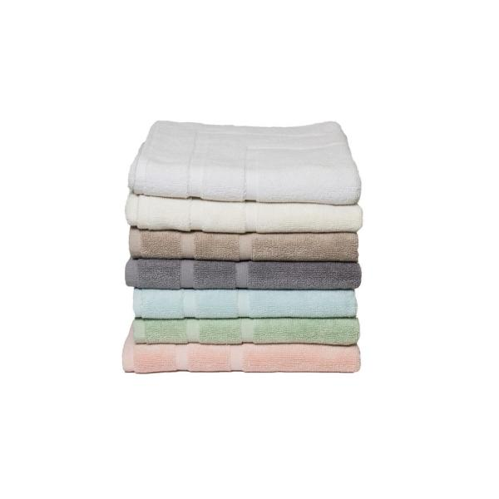 Espalma Diplomat 6-Piece 100% Cotton Bath Towel Set in Coral 869297