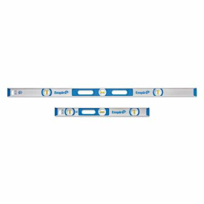 48 in. Aluminum I-Beam Level and 24 in. Aluminum I-Beam Level Set (2-Piece)