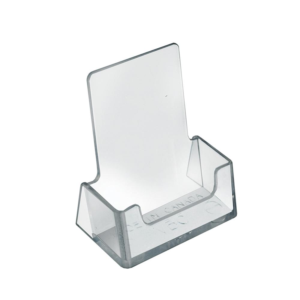 Azar Displays Clear Acrylic Vertical Business Card Holder Display ...
