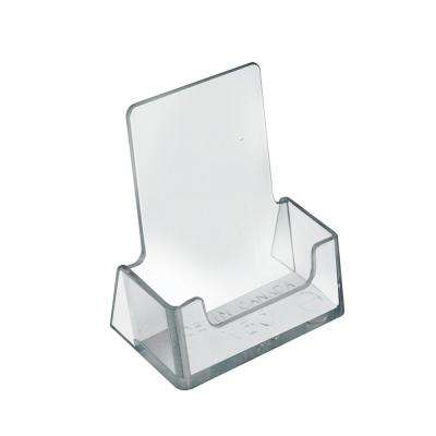 Clear Acrylic Vertical Business Card Holder Display for Counter(10-Pack)