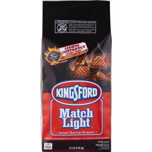 Kingsford 15 4 Lbs Instant Charcoal Briquettes 4460031204 The Home Depot