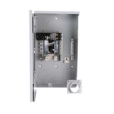 EQ 200 Amp 4-Space 8-Circuit Outdoor Mobile Home Main Breaker Load Center