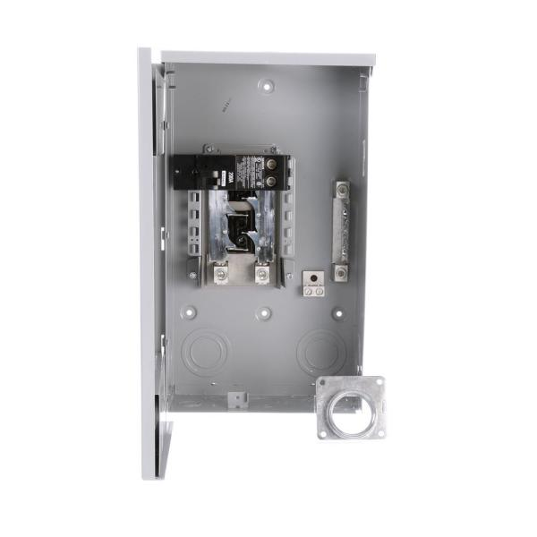 Siemens Eq 200 Amp 4 Space 8 Circuit Outdoor Mobile Home Main Breaker Load Center W0404mb1200ct The Home Depot
