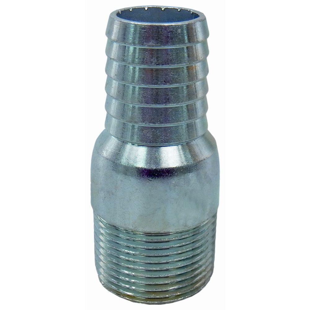 Water Source 1 in. Steel Male Insert Adapter