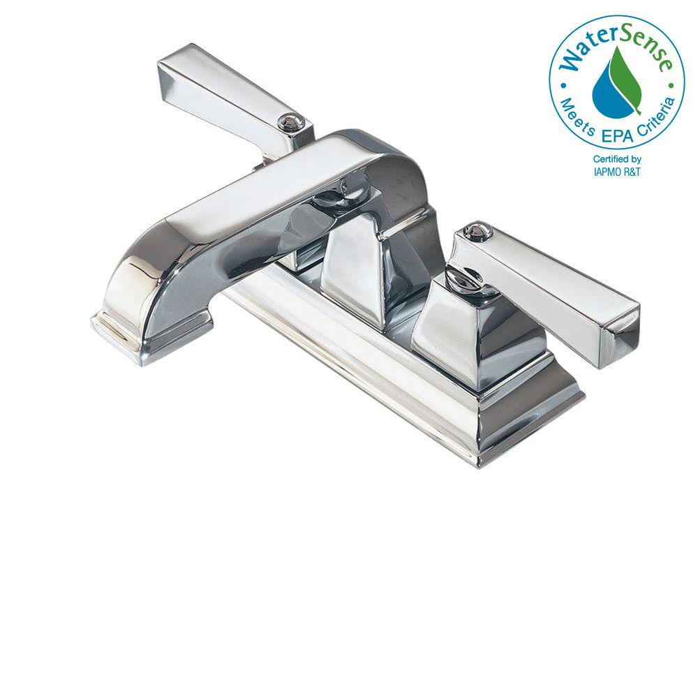 American Standard Town Square 4 in. Centerset 2-Handle Low-Arc ...