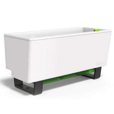 23.6 in. W x 10.1 in. H Mini Bench Self Watering Planter Box