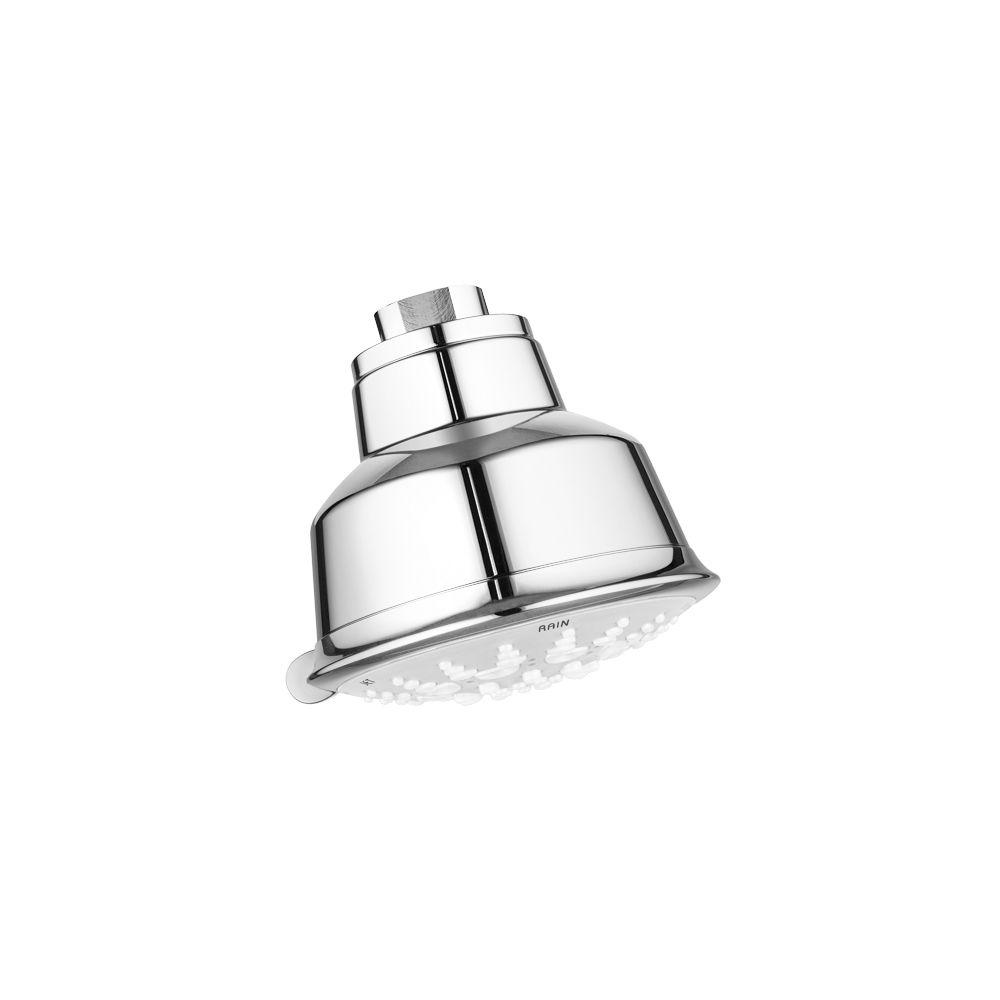 GROHE GROHE Relexa Rustic 5-Spray 3-15/16 in. Showerhead in StarLight Chrome