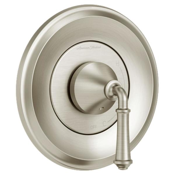 Delancey 1-Handle Valve Trim Kit for Flash Rough-In Valves in Brushed Nickel (Valve Not Included)