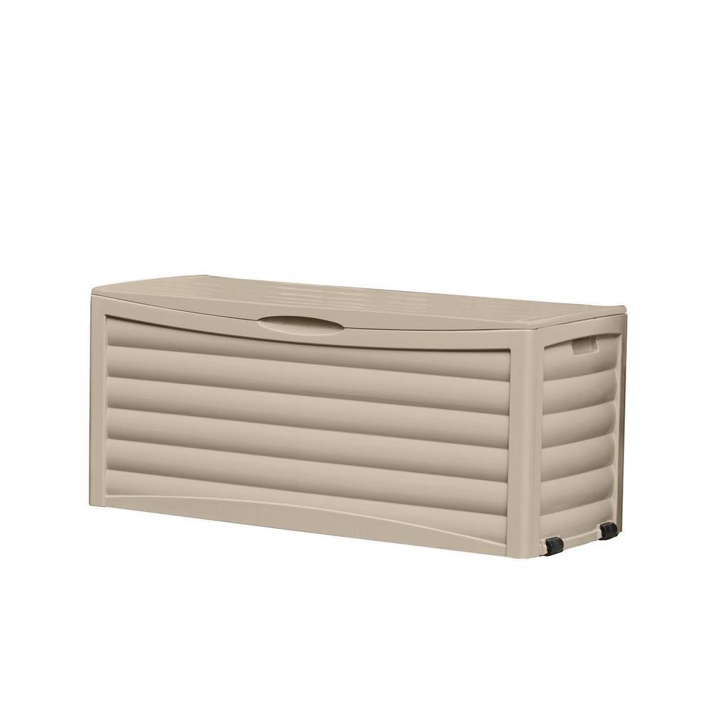 103 Gal. Resin Deck Box