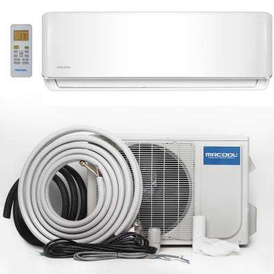 Advantage 9,000 BTU 3/4 Ton Ductless Mini-Split Air Conditioner and Heat Pump - 230V/60Hz