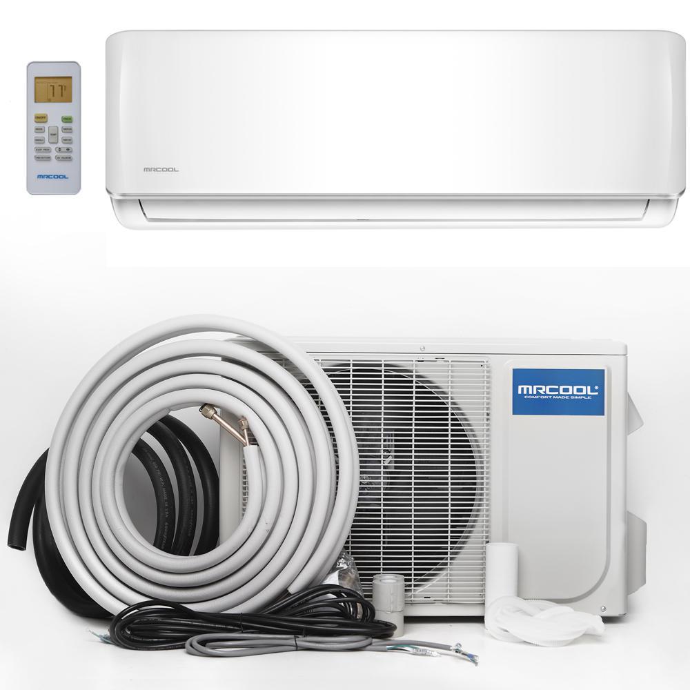 Mrcool advantage 24 000 btu 2 ton ductless mini split air for 2 ton window ac power consumption