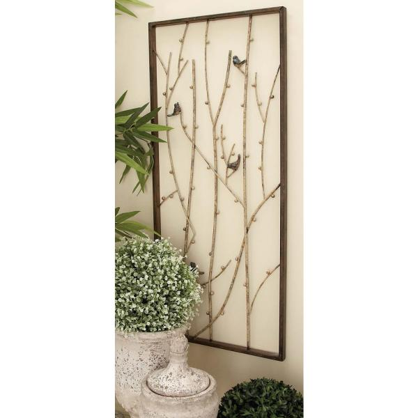 Natural Rustic Iron Branches
