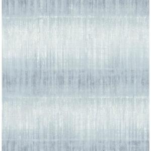 Sanctuary Blueberry Texture Stripe Paper Strippable Roll Wallpaper (Covers 56.4 sq. ft.)