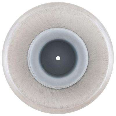 2.5 in. Satin Chrome Concave Wall Stop