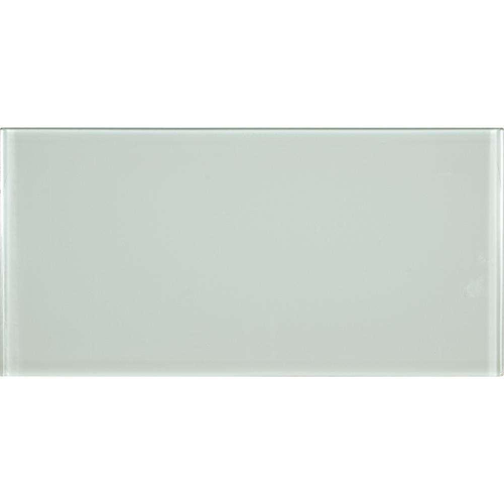 MS International Arctic Ice 6 in. x 12 in. Glass Wall Tile