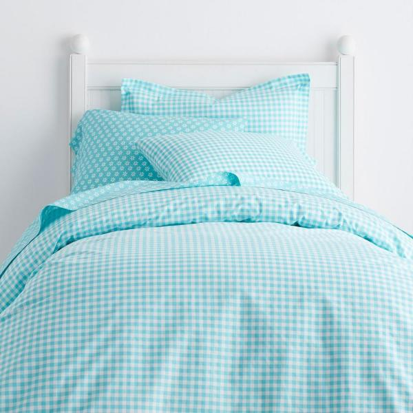 Golfing Company Store Cotton Twin Flat Fitted Sheets Pillowcase Duvet Cover Sham
