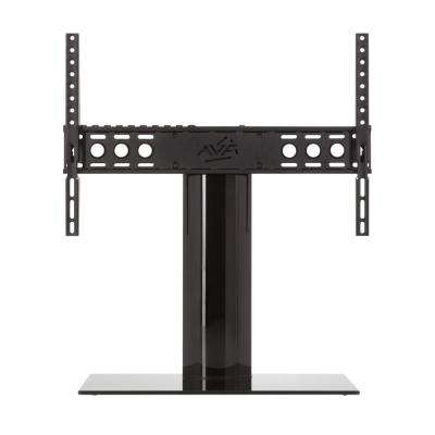 Universal Table Top TV Stand/Base Fixed Position for Most TVs 46 in. to 65 in., Black/Black