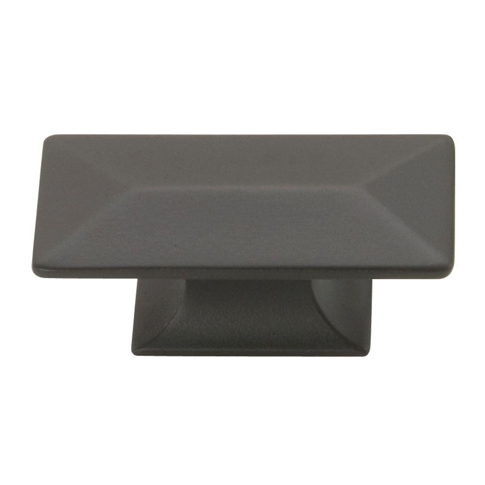 Bungalow 1 in. Oil-Rubbed Bronze Cabinet Knob