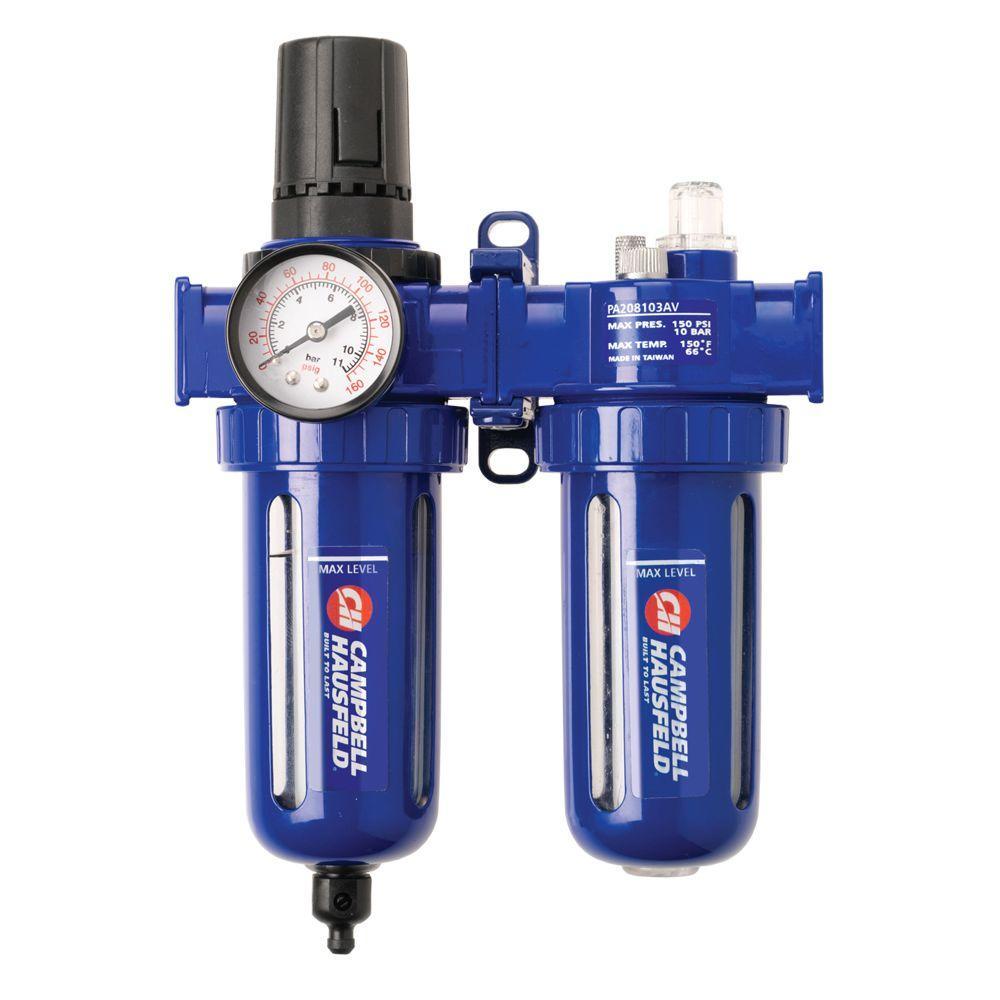 Campbell Hausfeld Air Filter and Pressure Regulator