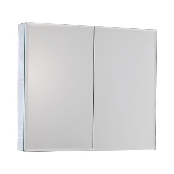 30 in. x 26 in. Recessed or Surface Mount Bathroom Medicine Cabinet