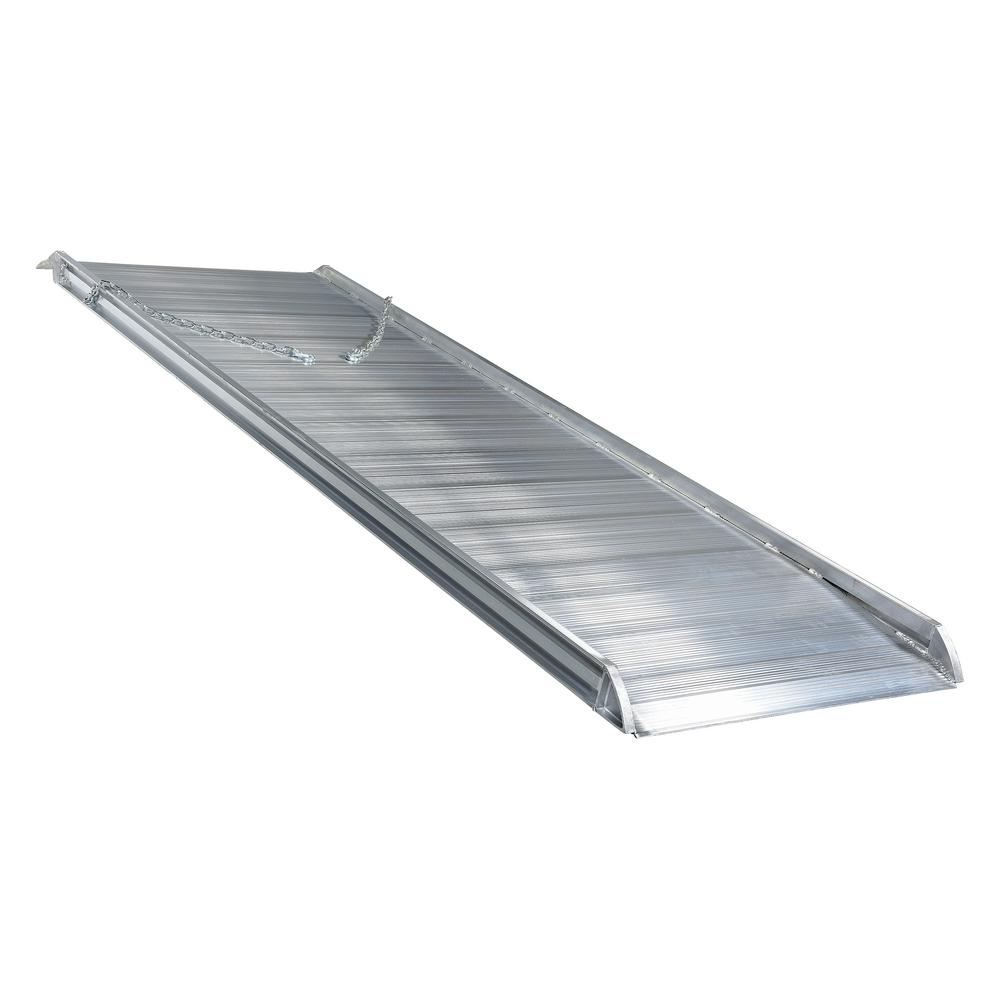 Walking The Ramp For Home Decor Ideas: Vestil 120 In. X 38 In. Aluminum Walk Ramp Overlap Style