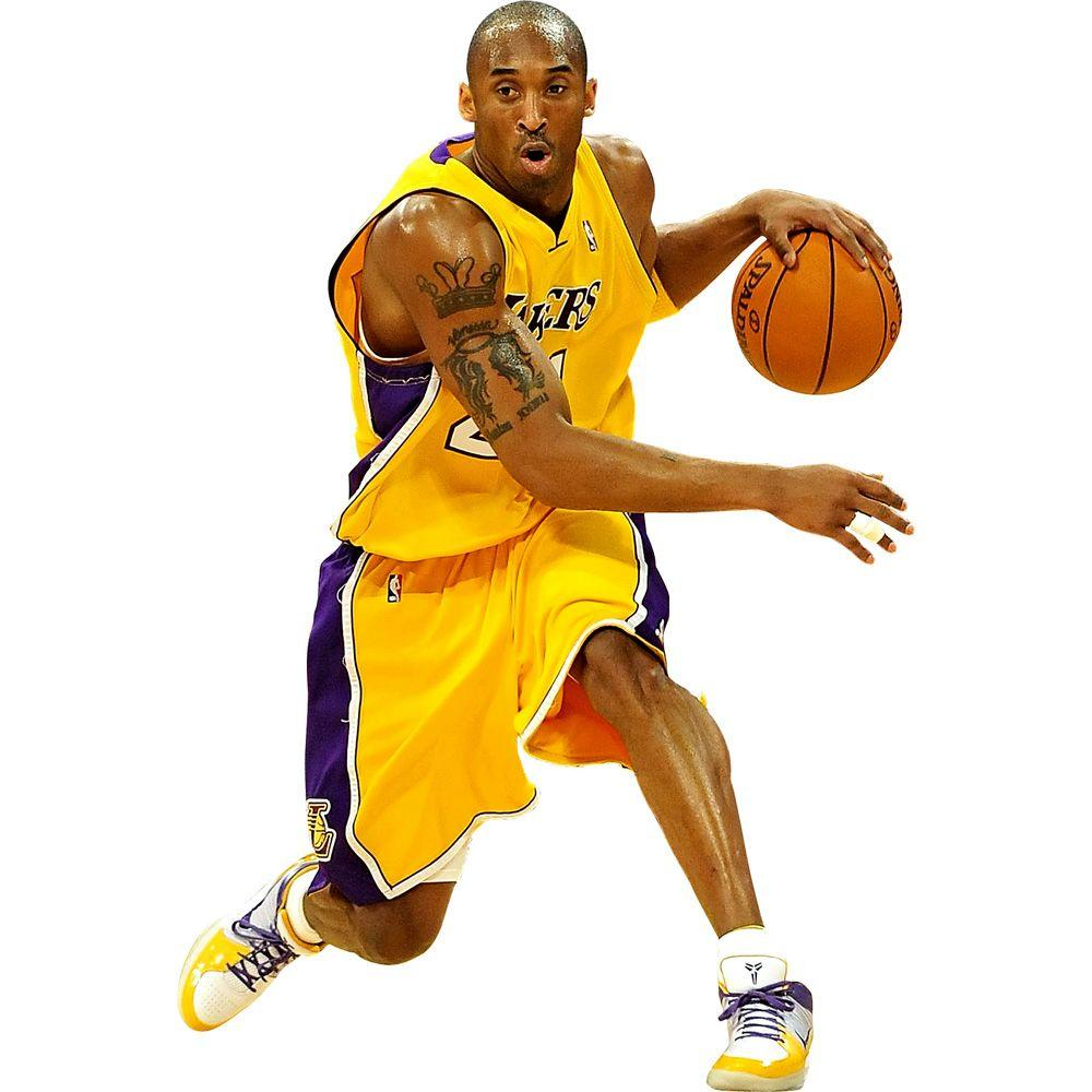 Fathead 75 in. x 51 in. Kobe Bryant Wall Decal