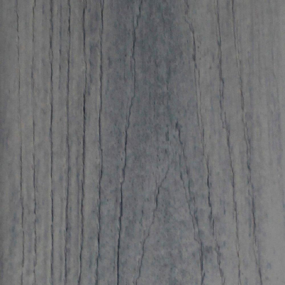 Refine 1 in. x 5-3/8 in. x 12 ft. Aurora Mist Grooved Edge Composite Decking Board ( 10-Pack)