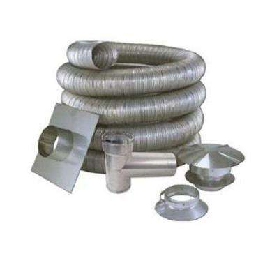 7 in. x 25 ft. All Fuel Stainless Steel Kit