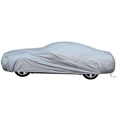 Solar-Tech Polypropylene 238 in. x 56 in. x 53 in. Reflective Car Cover 3X-Large