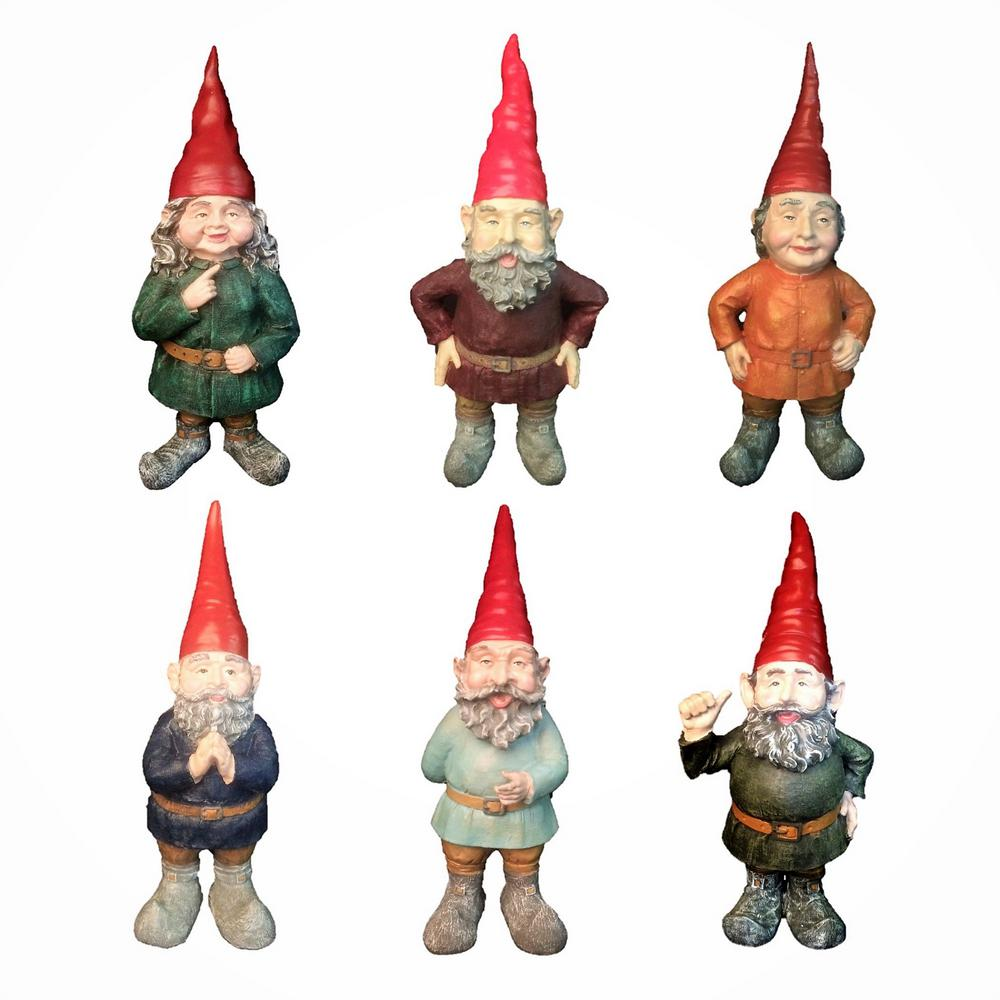 H Classic Old World Garden Gnome Collectors Edition Assortment (1