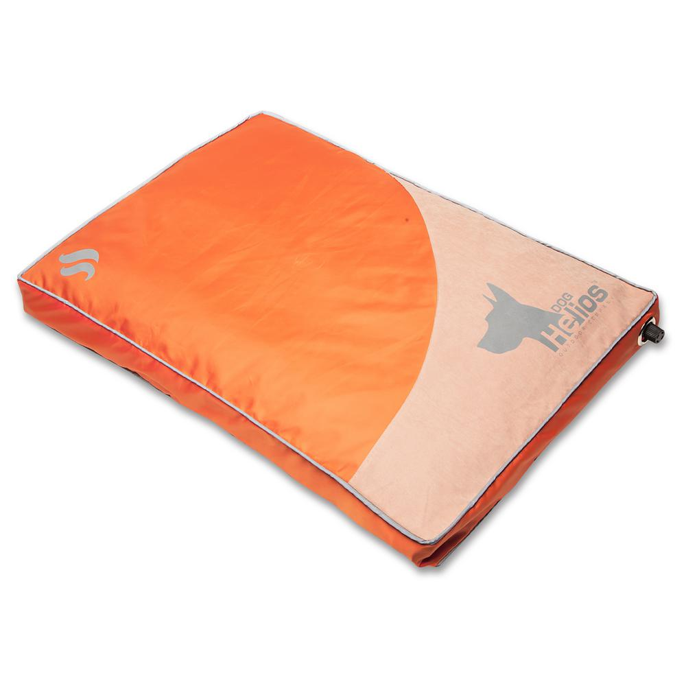 Dog Helios Small Orange Aero Inflatable Outdoor Camping Travel Waterproof Pet Dog Mat Bed