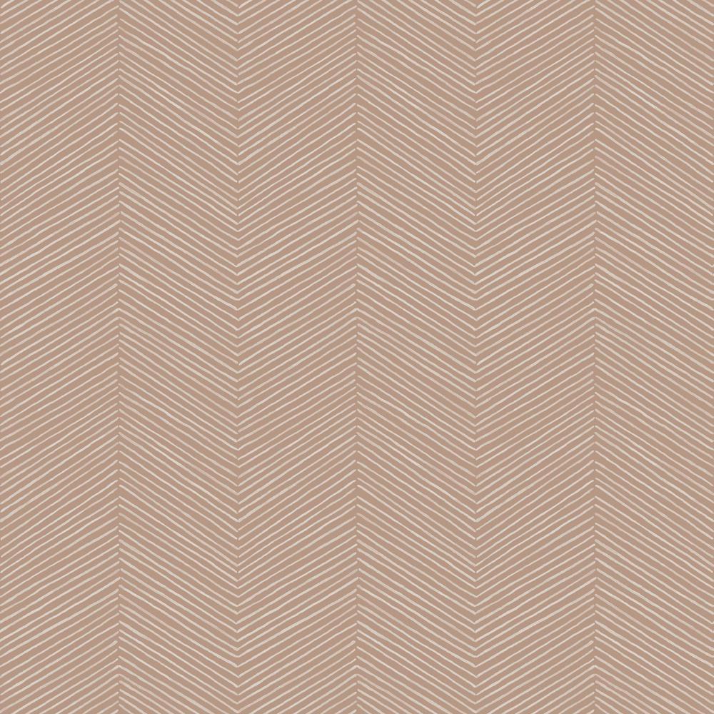 Arrow Weave Natural Wallpaper