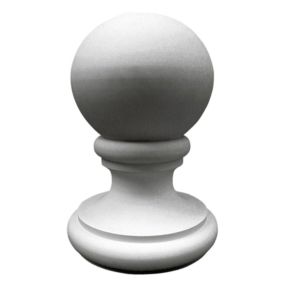 Ekena Millwork 14-7/8 in. x 14-7/8 in. x 21-3/8 in. Traditional Finial