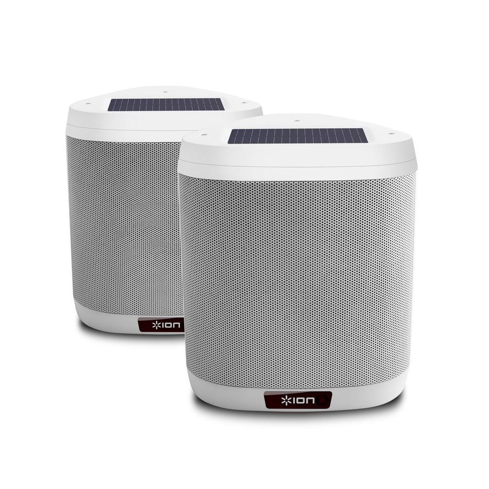 Ion Audio Keystone Pair Mountable Outdoor Bluetooth Speakers-KEYSTONEPXUS