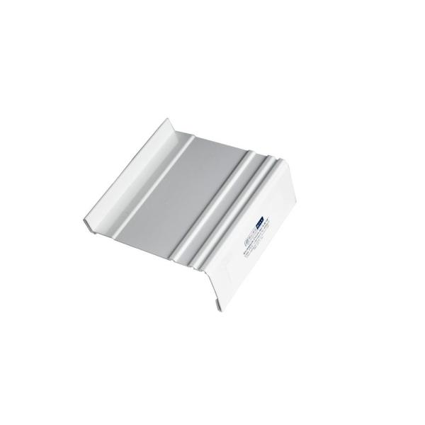 4-9/16 in. White Sloped Sill Pan Extension  Flashing