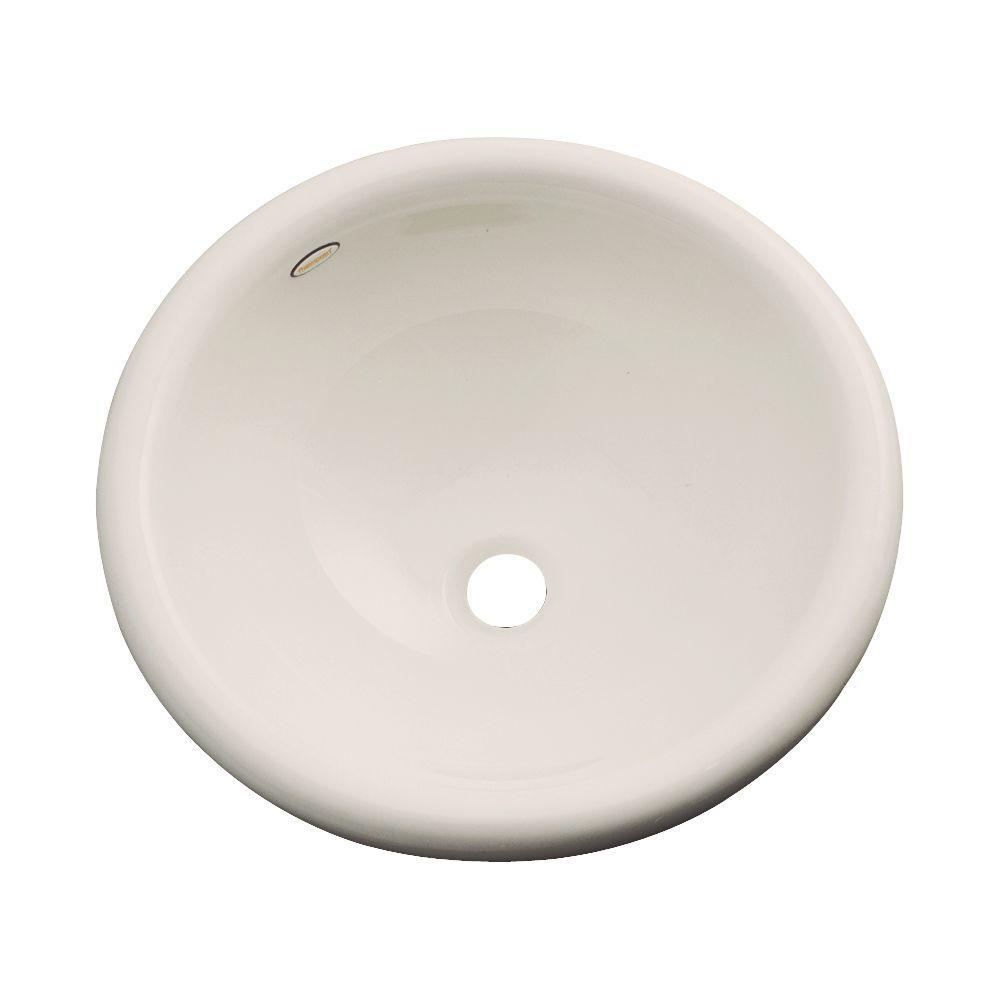Thermocast Eudora Drop-In Bathroom Sink in Desert Bloom