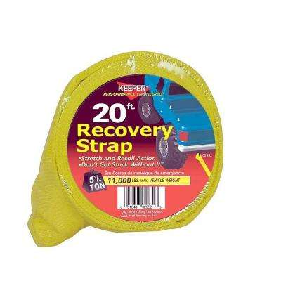 "20' x 3"" x 22,500 lbs. Vehicle Recovery Strap"