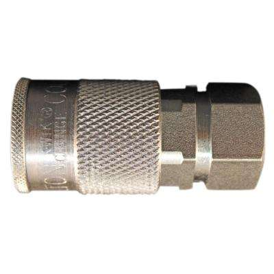 3/8 in. FNPT H Style Coupler (5-Pieces)