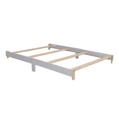 Universal Pebble Grey Full Size Bed Rail (1-Pack)