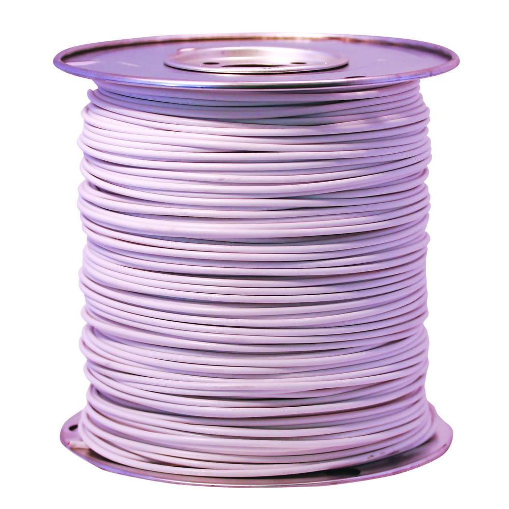 1000 ft. 10 White Stranded CU GPT Primary Auto Wire