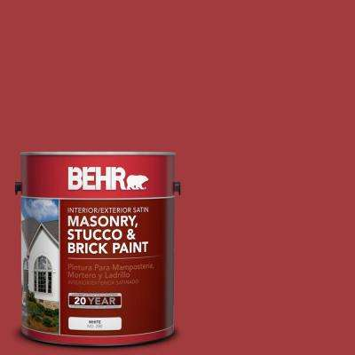 Pfc 02 Brick Red Satin Interior Exterior Masonry Stucco