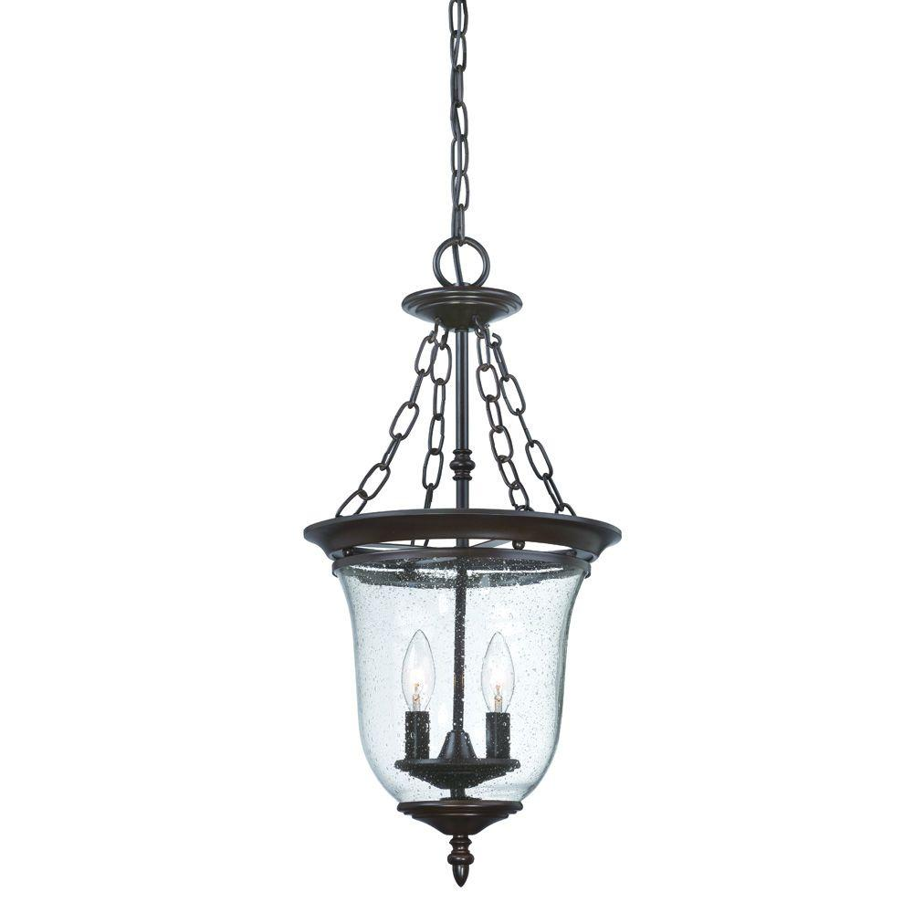 Acclaim Lighting Belle Collection 2-Light Architectural Bronze Outdoor Hanging Lantern
