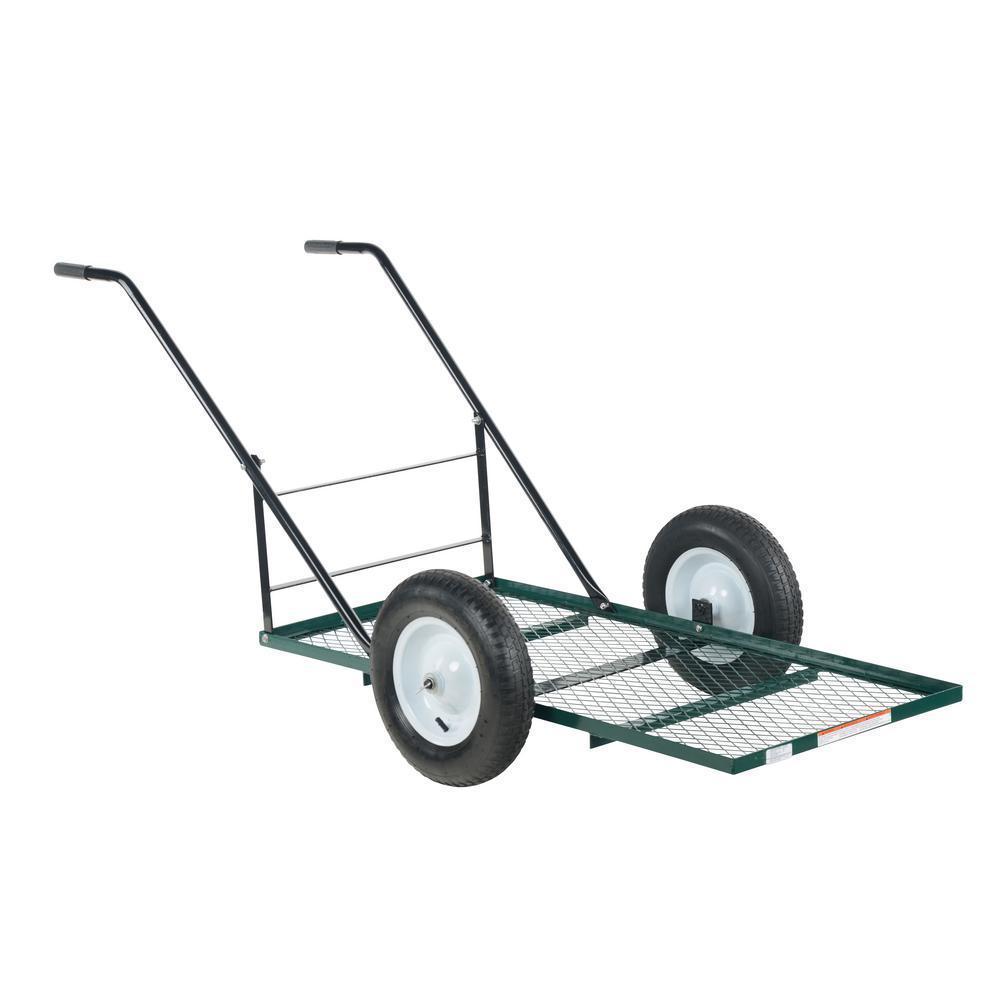 500 lb. 24 in. x 48 in. Landscape Cart Low Profile Tilt