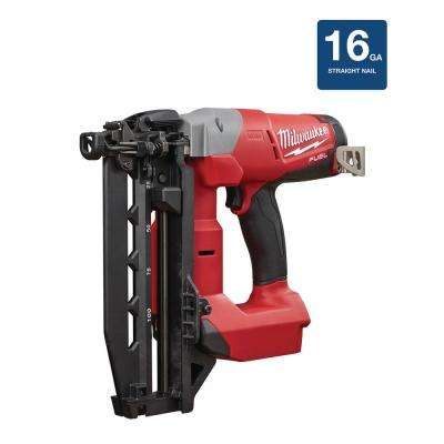 M18 FUEL 18-Volt 16-Gauge Straight Finish Nailer Bare Tool