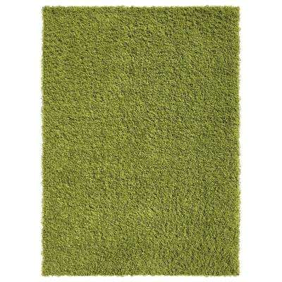 Bella Collection Green 5 ft. x 7 ft. Area Rug