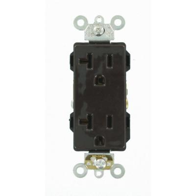 Non-Grounded 125 Volt Residential Grade with Duplex Receptacle Leviton 223 15 Amp Brown