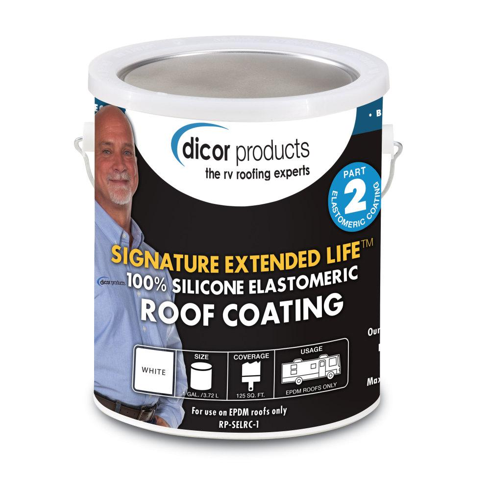 Dicor Signature 1 Gal Extended Life Rv Roof Coating In